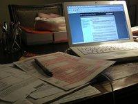 Laptop i rachunki